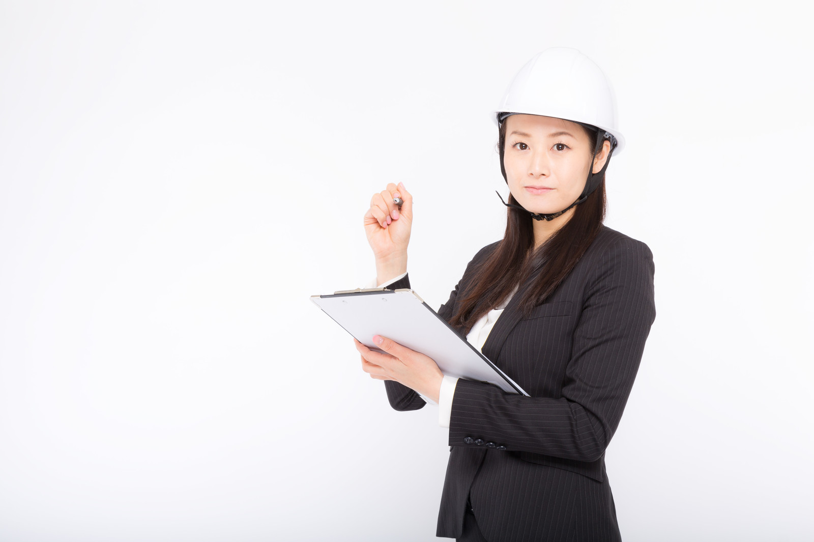 施工管理の女性