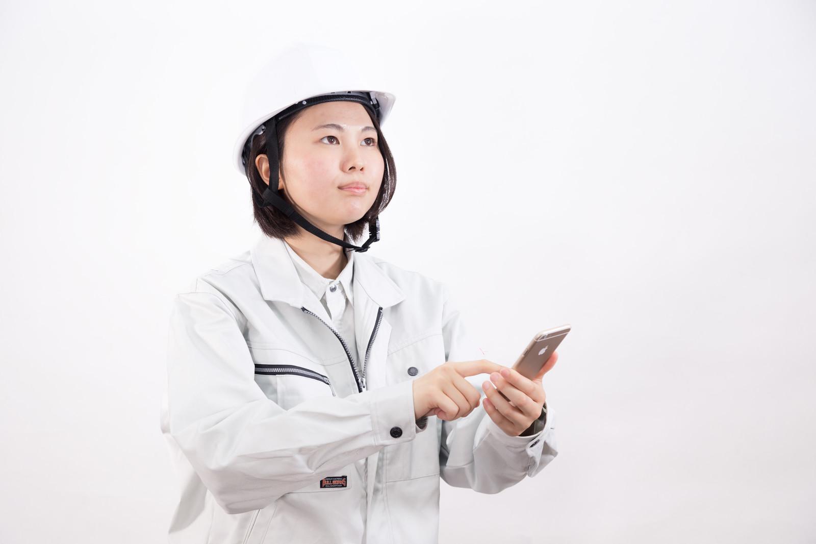 女性の施工管理